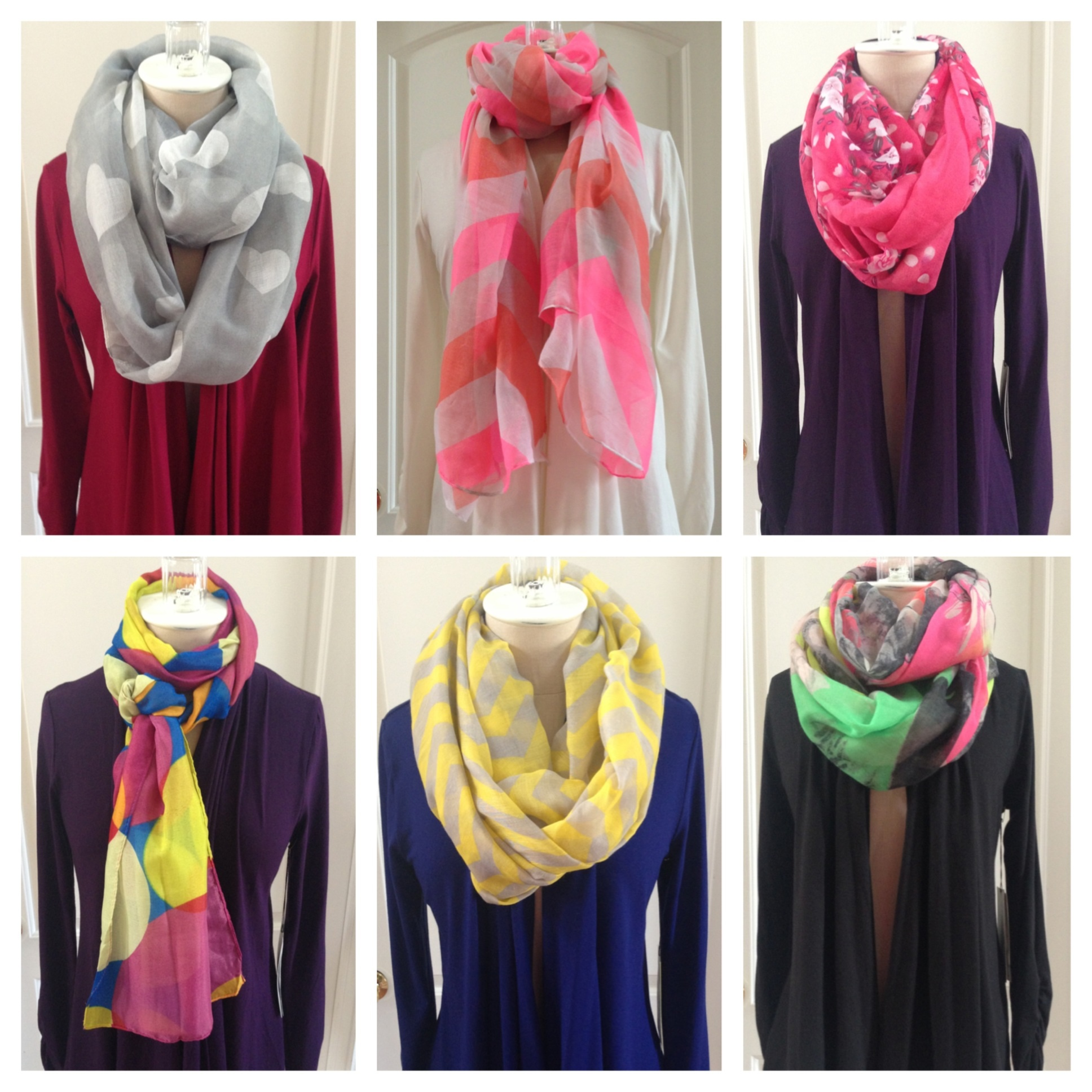 introducing our scarf collection direct to consumer
